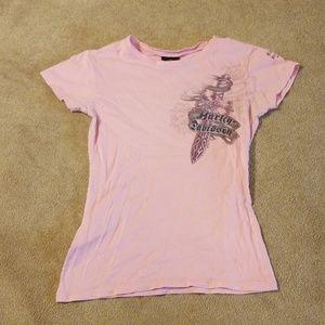 Harley Davidson womens tshirt